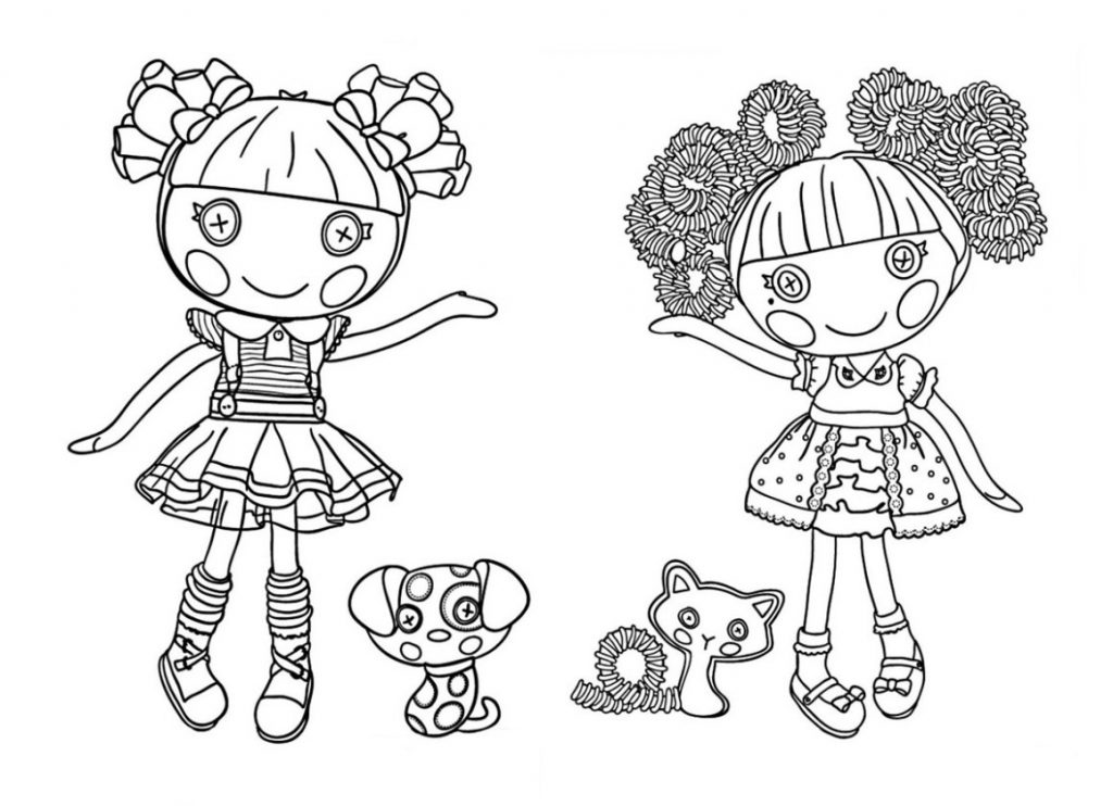 Lalaloopsy Characters Coloring Pages