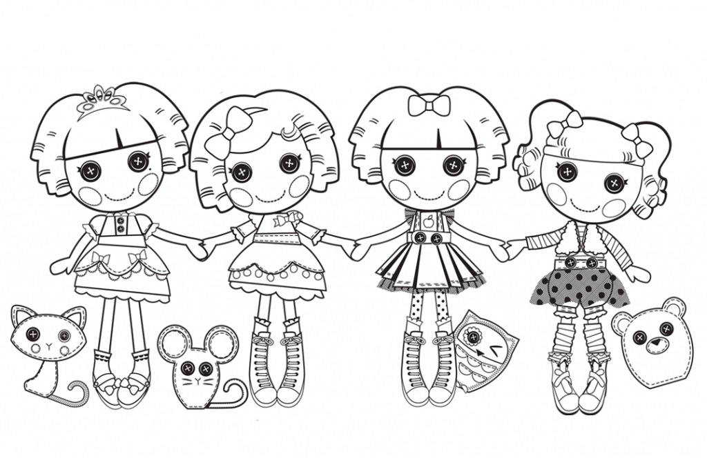 Lalaloopsy Doll Coloring Pages
