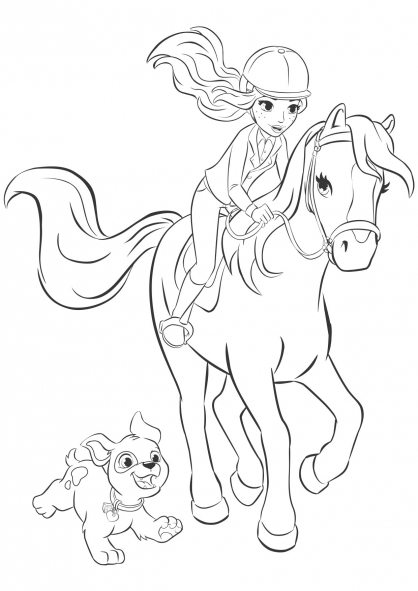 - Lego Friends Coloring Pages - Best Coloring Pages For Kids