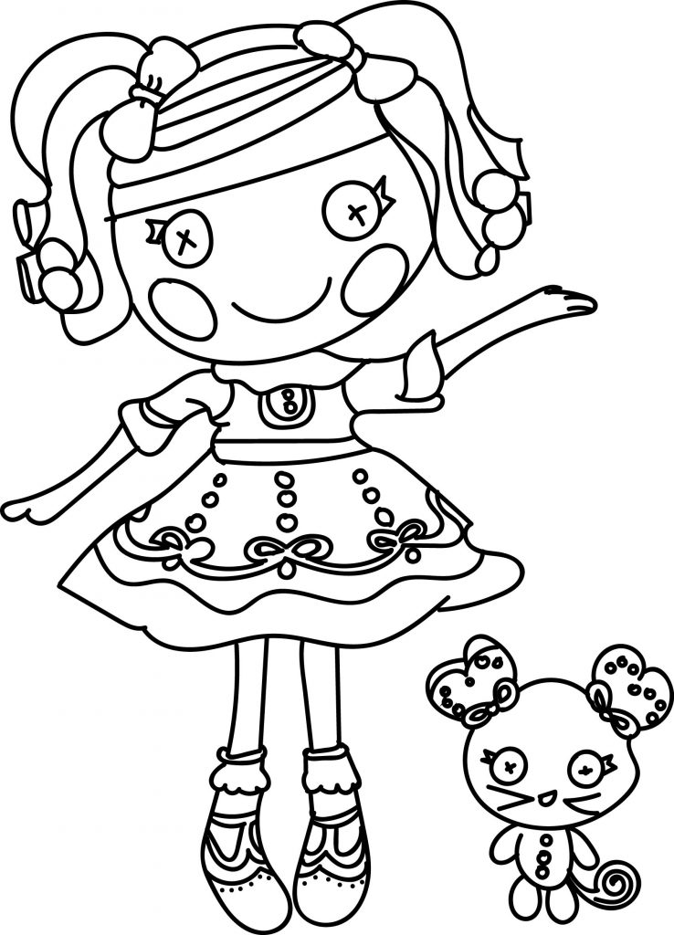 Pretty Lalaloopsy Coloring Pages