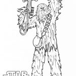 Star Wars Chewbacca Coloring Pages