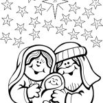 Abraham And Sarahs Baby Coloring Page