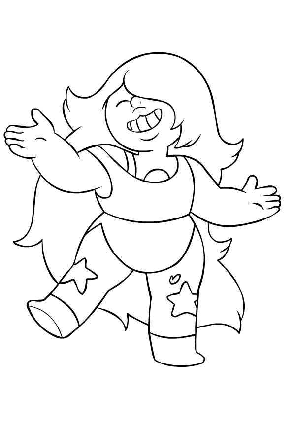 Steven Universe Coloring Pages - Coloring Home | 884x599