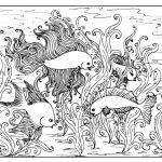 Beautiful Fish Coloring Page