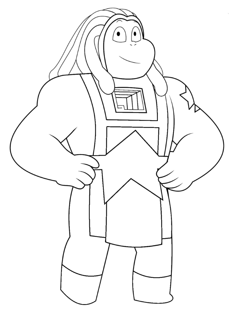 Bismuth Steven Universe Coloring Pages