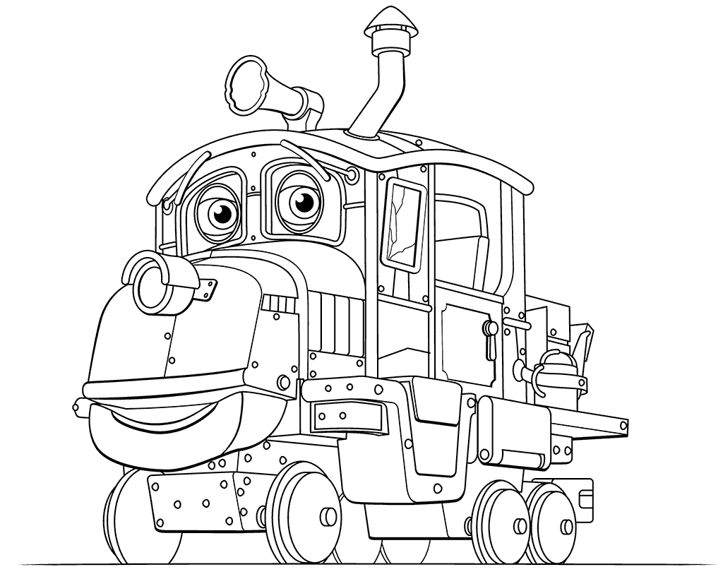 Chuggington Caley Coloring Pages