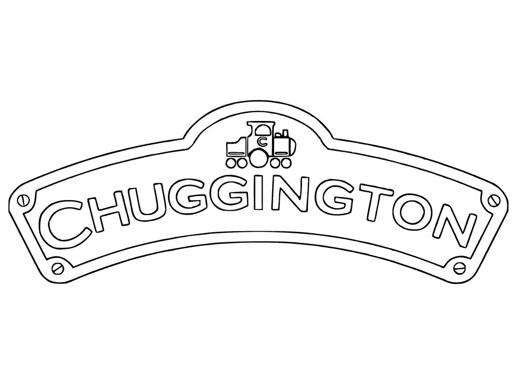 Chuggington Logo Coloring Pages