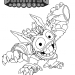 Pop Fizz Skylanders Coloring Pages