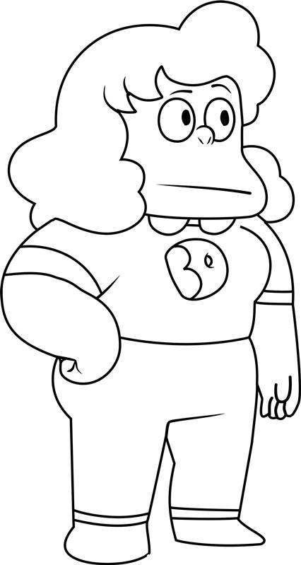 Sadie Steven Universe Coloring Pages