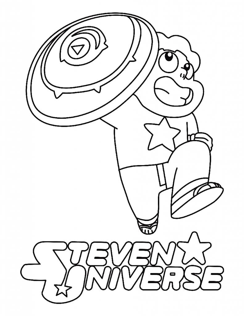 Steven Universe Coloring Page Printable