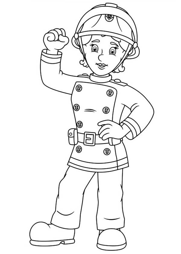 Fireman Sam coloring picture #fireman #sam #episodes | Coloring ... | 840x600