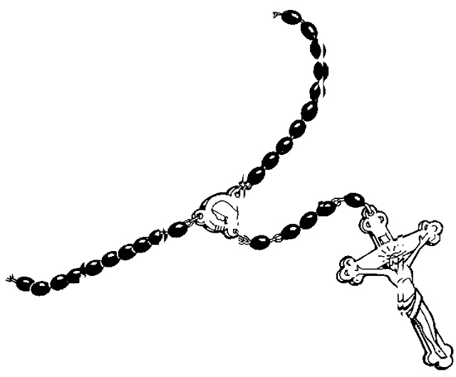 Rosary Art To Color