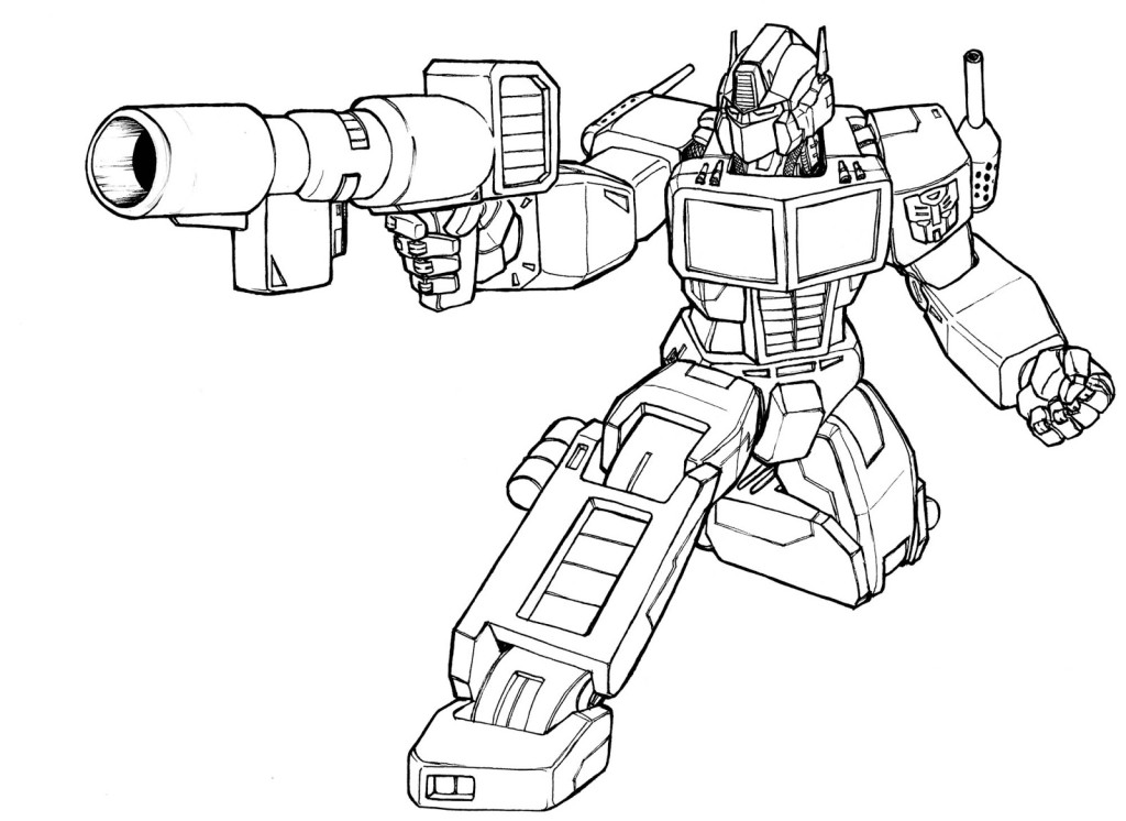 Voltron Blaster Coloring Pages