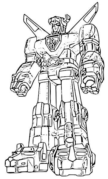 Voltron Defender Coloring Pages