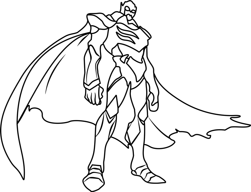 Voltron Printable Coloring Pages