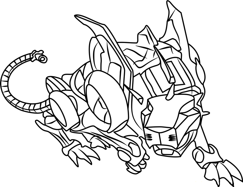 Voltron Red Lion Coloring Pages