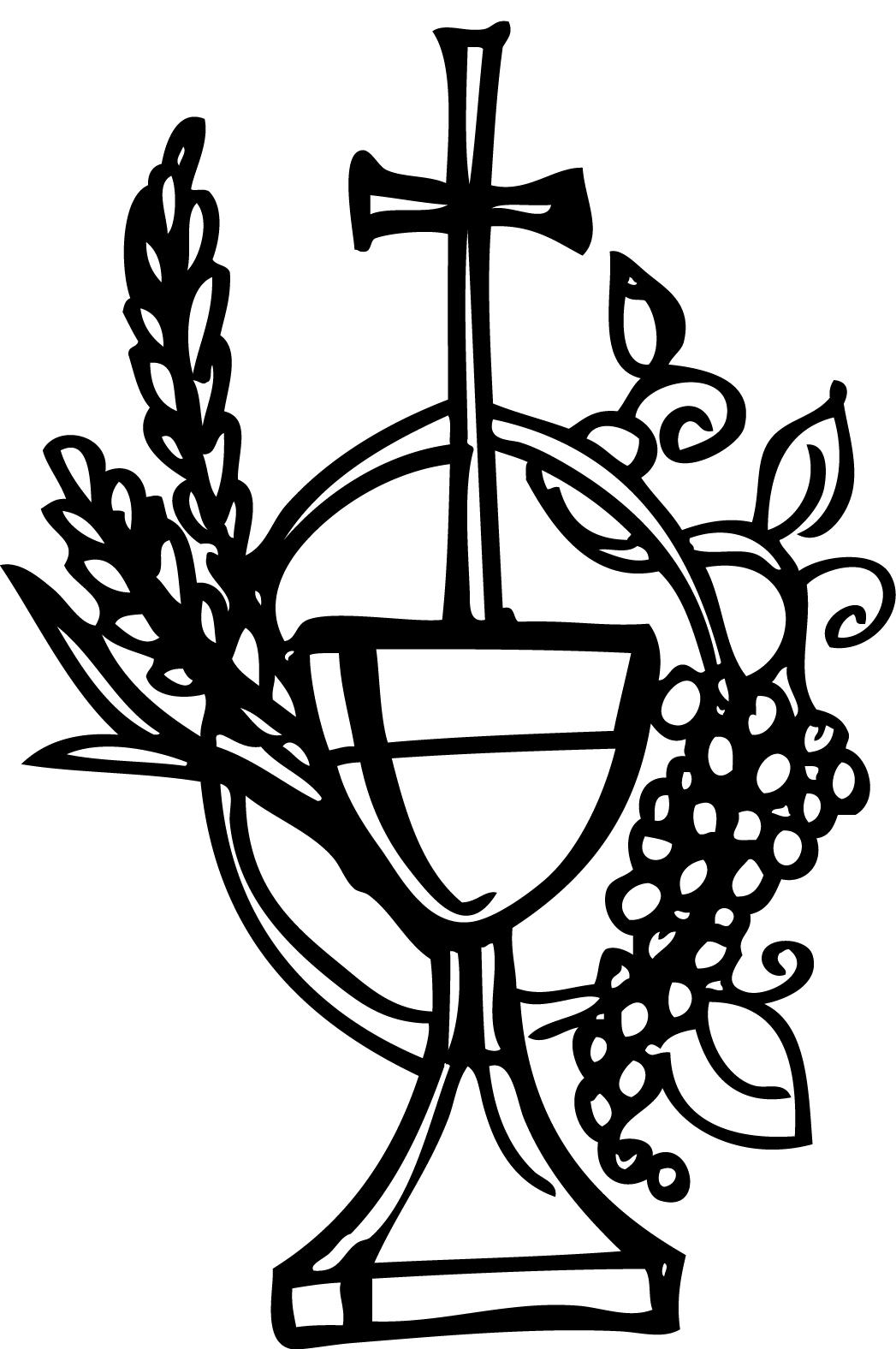 Communion Coloring Pages