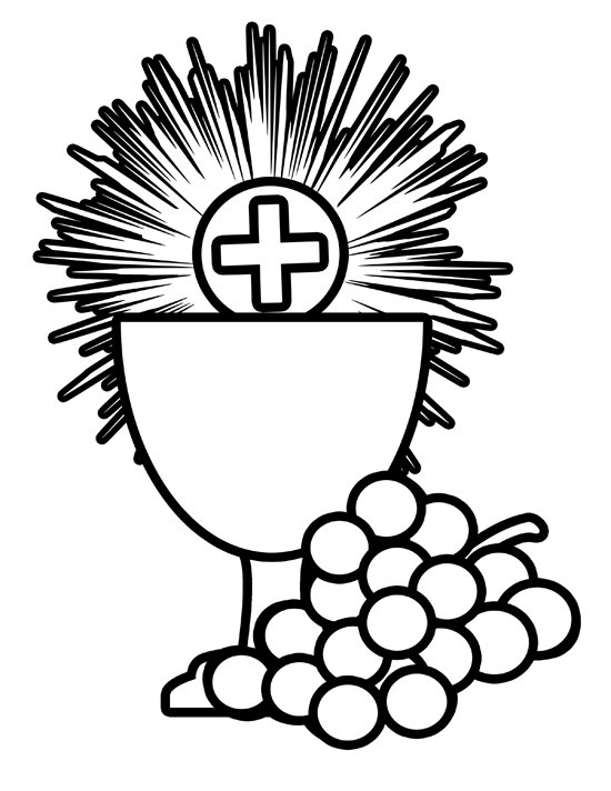 Communion Coloring Pages - Best Coloring Pages For Kids