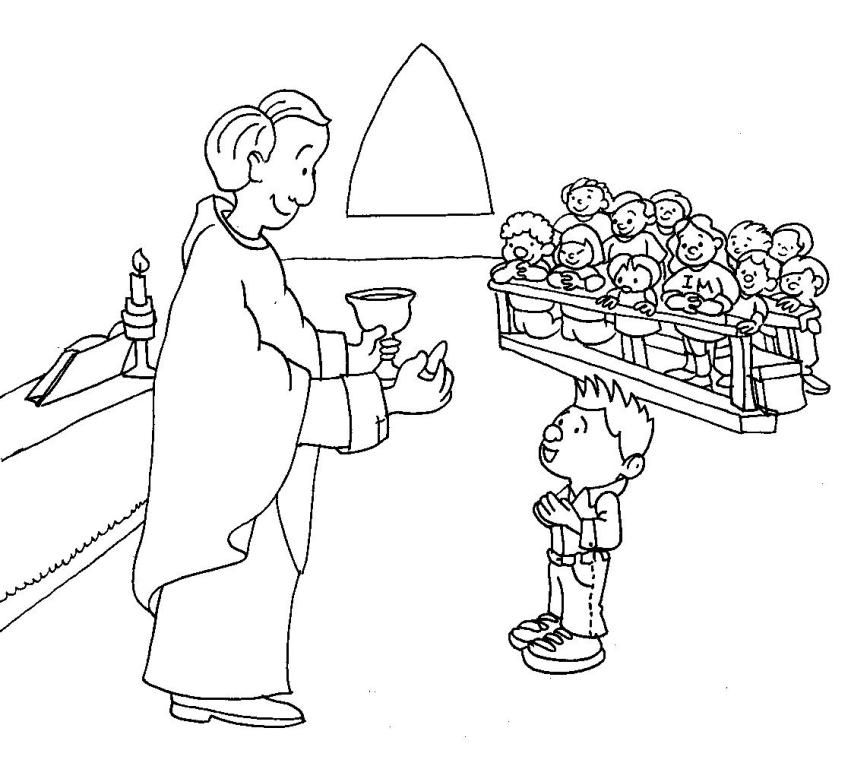Communion Coloring Pages Best Coloring Pages For Kids