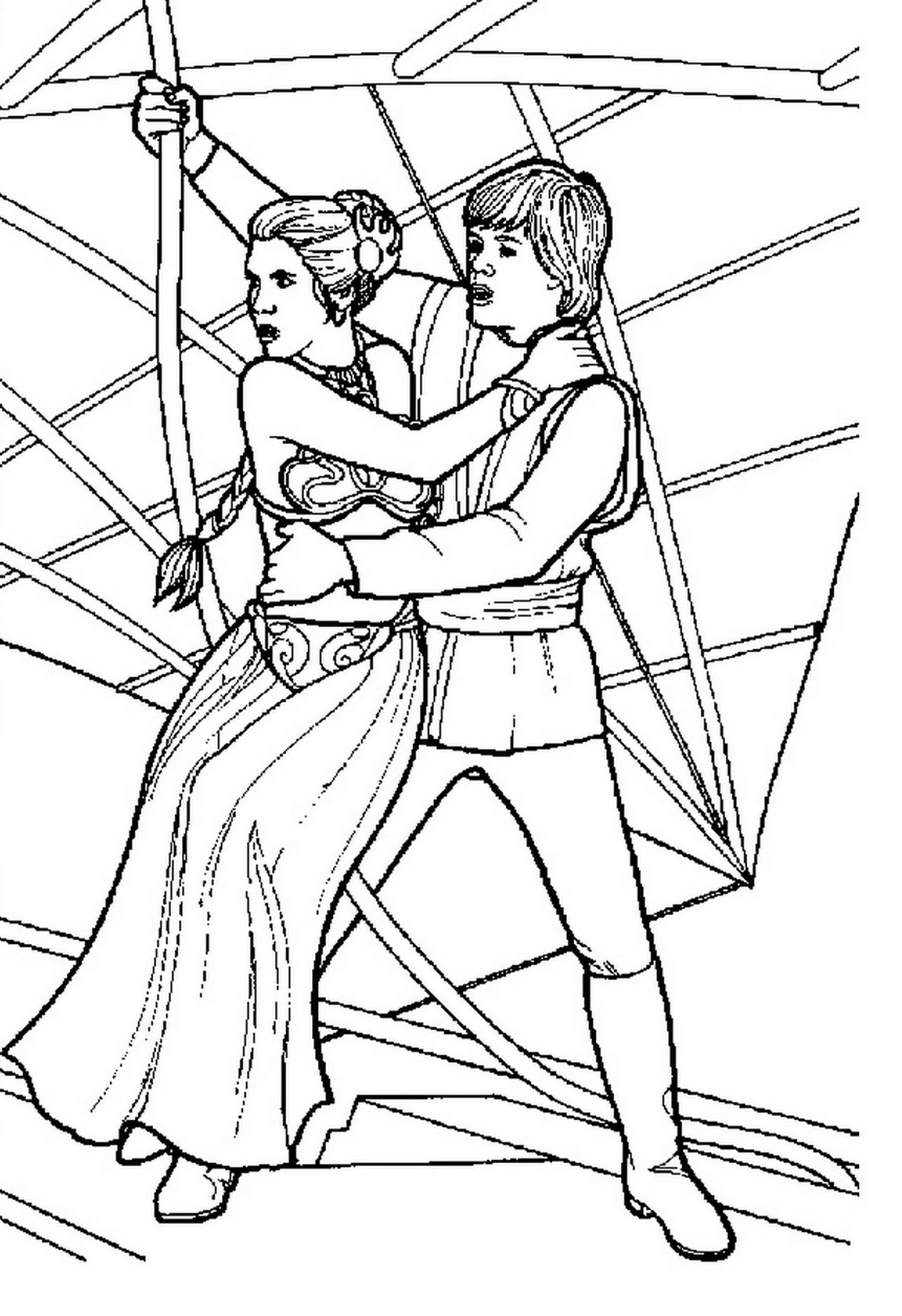 Princess Leia Coloring Pages - Best Coloring Pages For Kids