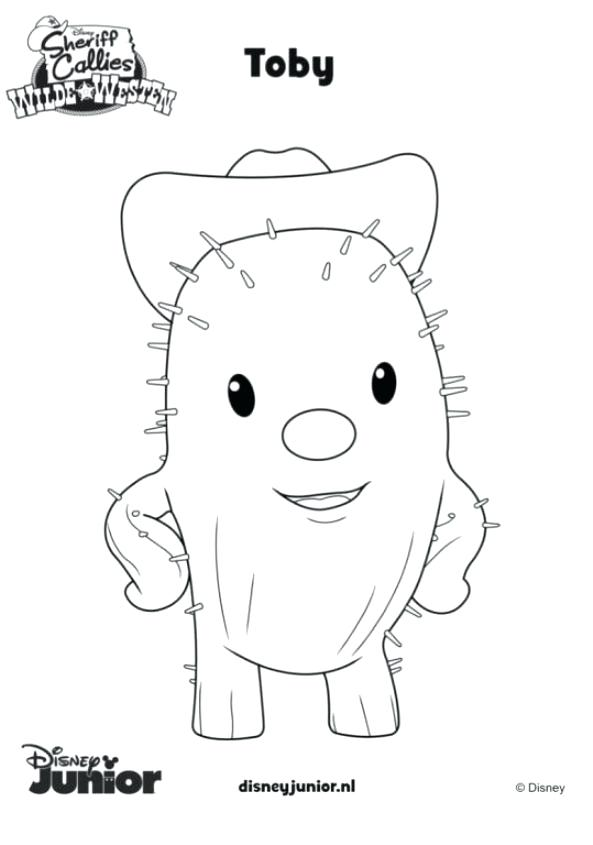 Toby Sheriff Callie Coloring Pages