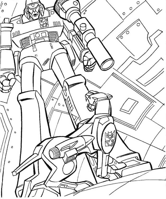Megatron Coloring Pages - Best Coloring Pages For Kids