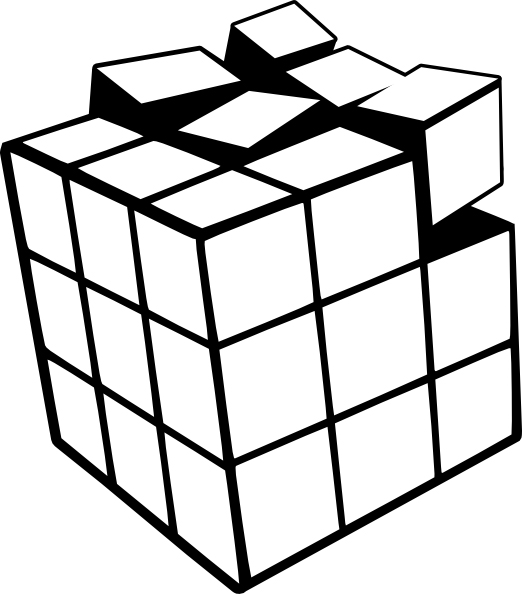 Printable Rubiks Cube Coloring Pages