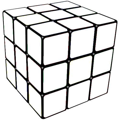 Rubicks Cube Coloring Page