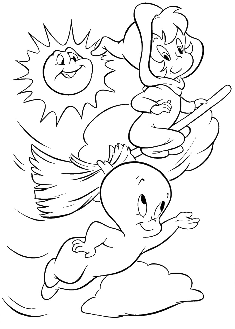 Download Casper Coloring Pages - Best Coloring Pages For Kids