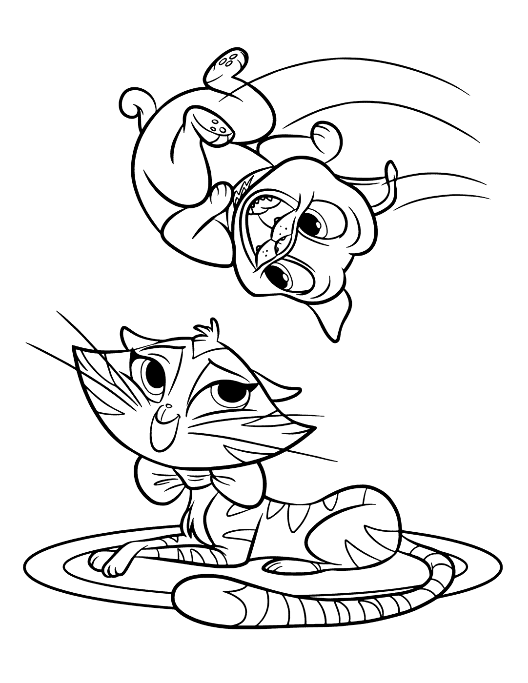Puppy Dog Pals Coloring Pages Rolly | Puppy coloring pages, Coloring books,  Cartoon coloring pages | 1400x1082