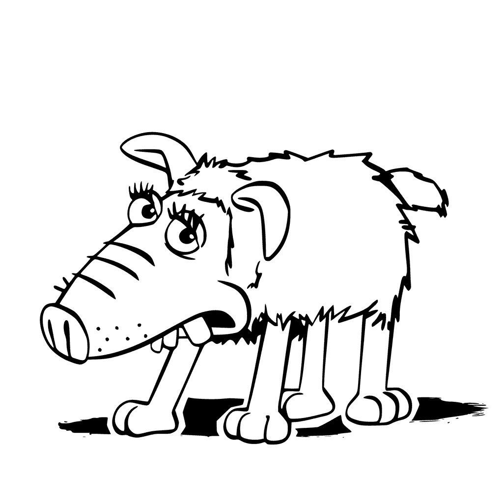 Slip Shaun The Sheep Coloring Pages