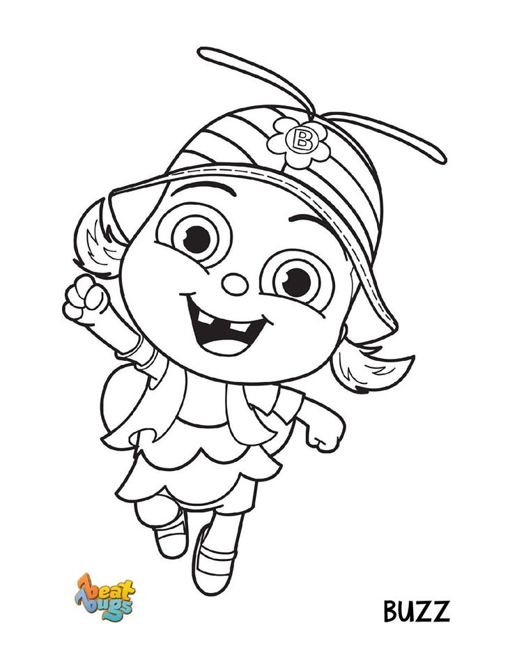 Buzz Beat Bugs Coloring Pages
