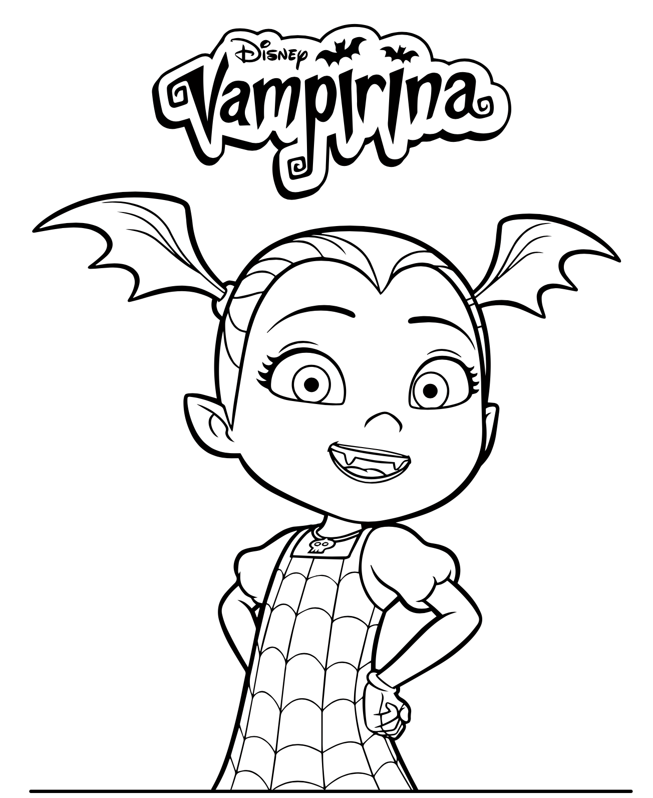 Disneys Vampirina Coloring Pages
