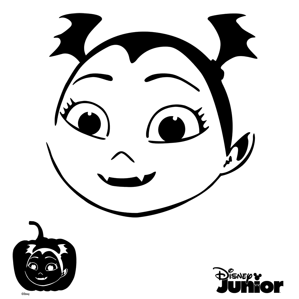 Easy Vampirina Coloring Pages
