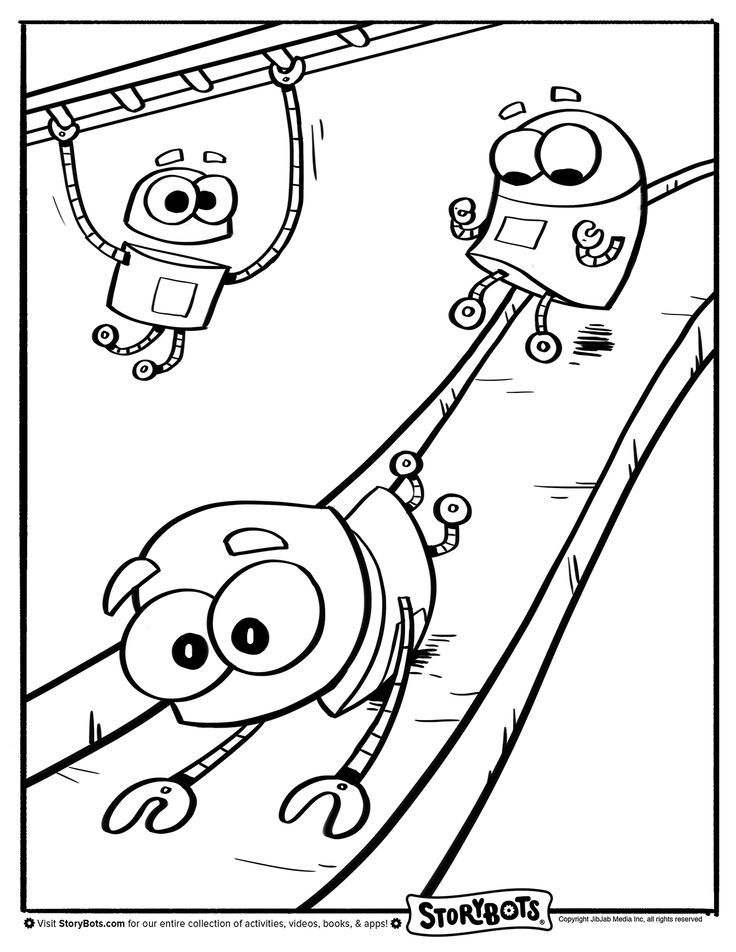 Fun Storybots Coloring Pages