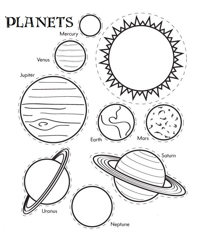 Jupiter Planets Coloring Pages