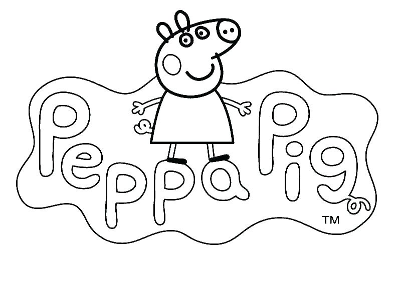 Peppa Pig Coloring Pages Best Coloring Pages For Kids
