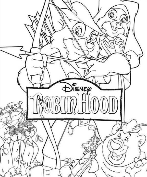 Robin Hood Movie Coloring Pages