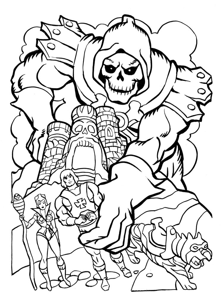 He Man Coloring Pages Best Coloring Pages For Kids