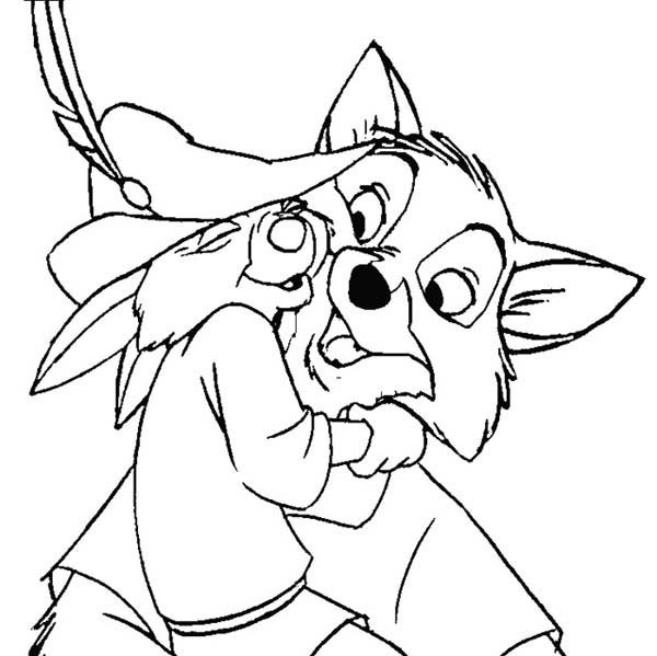 Skippy Robin Hood Coloring Pages