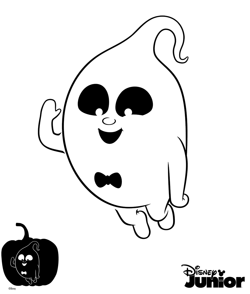 Vampirina Demi Ghost Coloring Pages