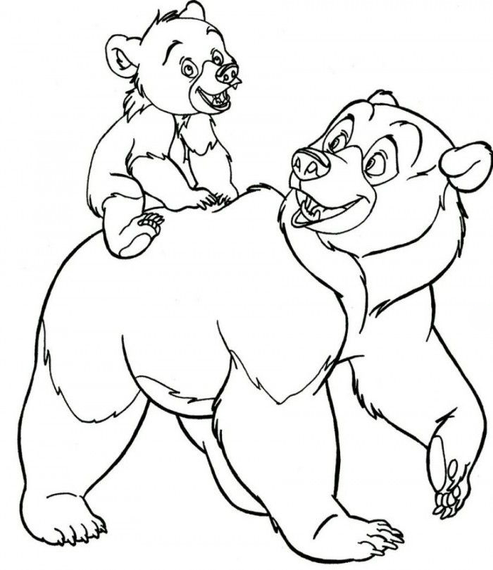 Brother Bear Printable Coloring Pages
