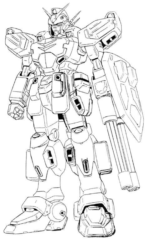 Gundam Coloring Page