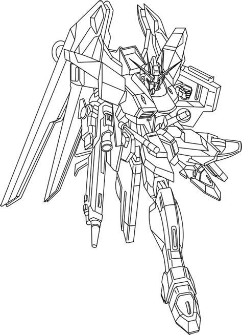 Gundam Printable Coloring Page