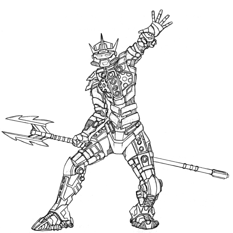 Bionicles Coloring Pages