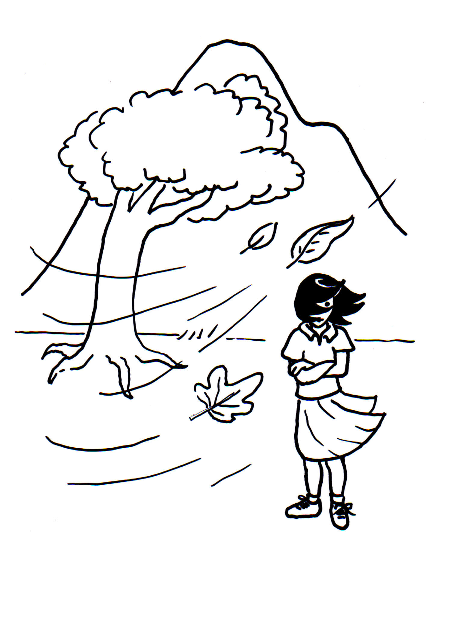 Hurricane Coloring Pages