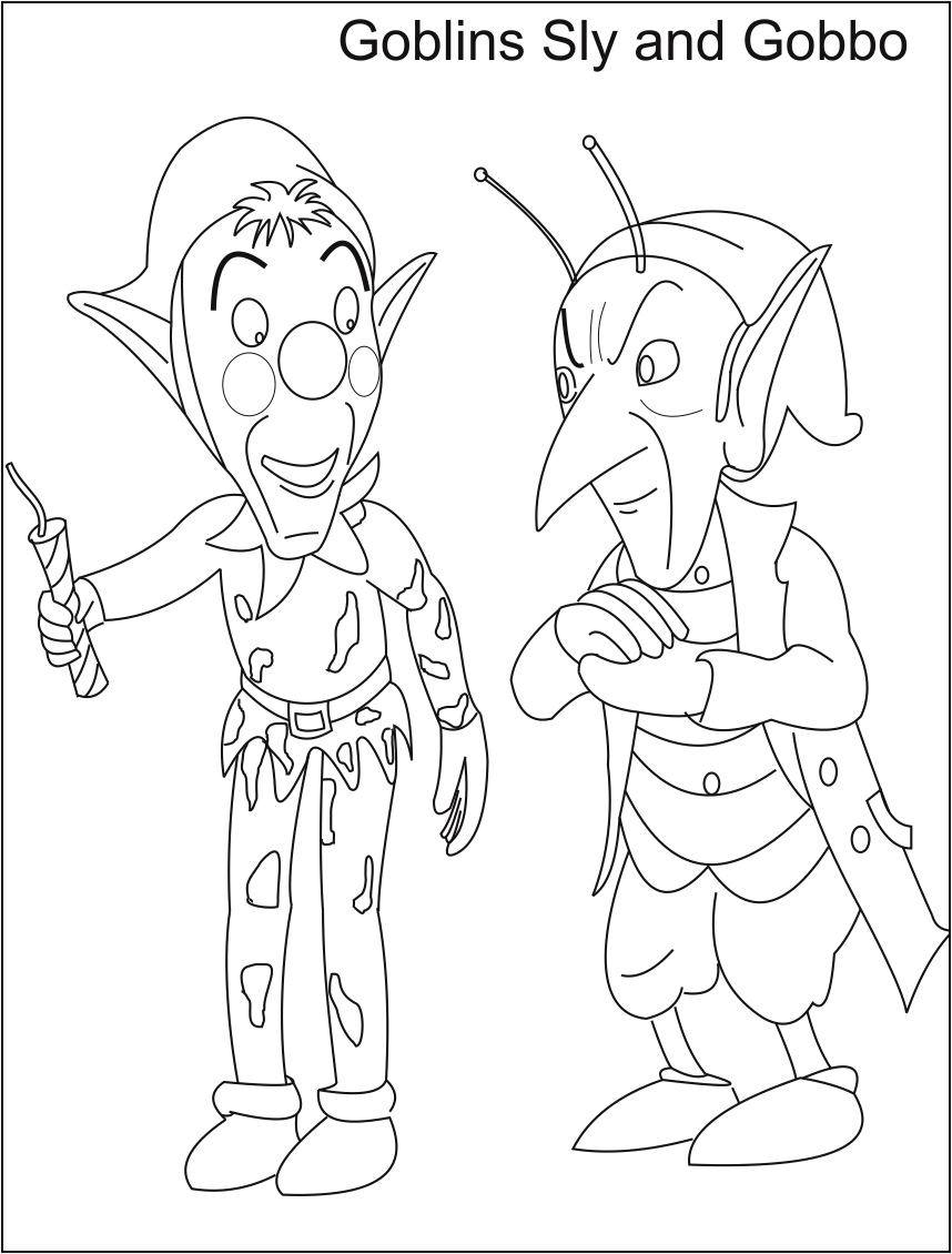Goblins Coloring Page