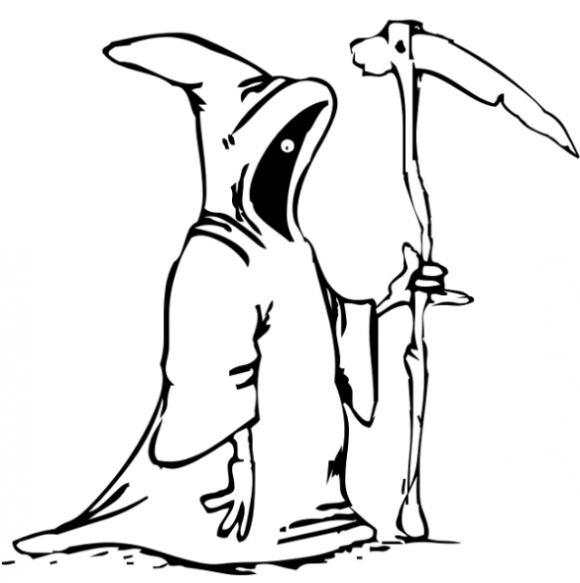 Grim Reaper Coloring Pages