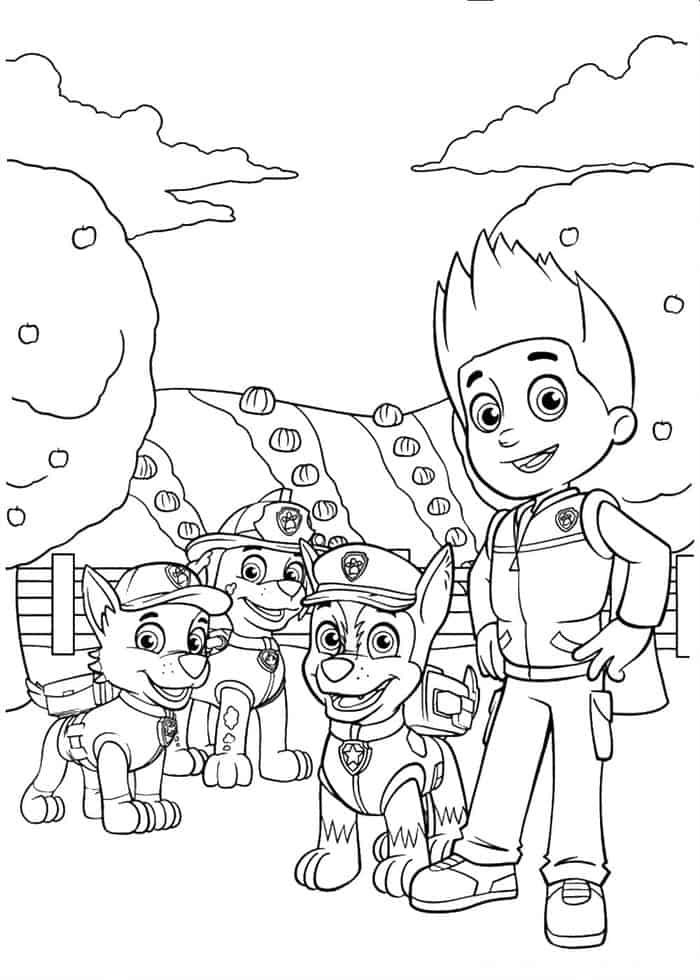 Paw Patrol Halloween Coloring Pages - Best Coloring Pages ...