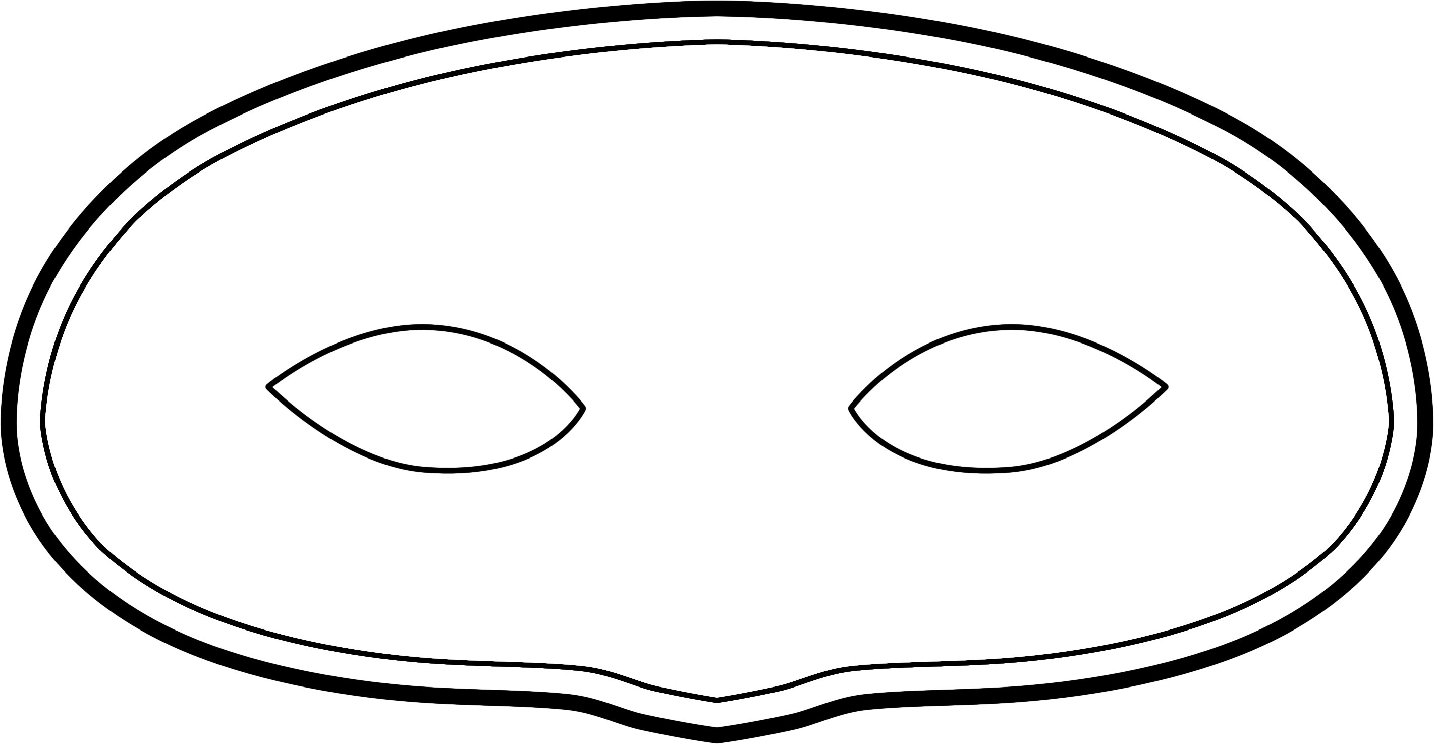 Plain Mask To Print And Decorate